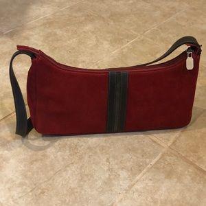 RARE New Prüne Red Leather Bag